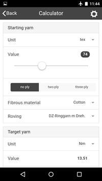 YarnCalculator apk screenshot