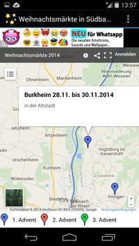 Weihnachtsmärkte in Südbaden apk screenshot
