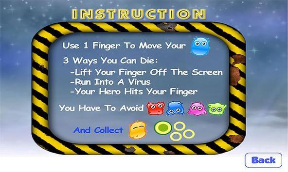 Avoid The Virus Attack FREE screenshot 1