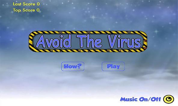 Avoid The Virus Attack FREE poster