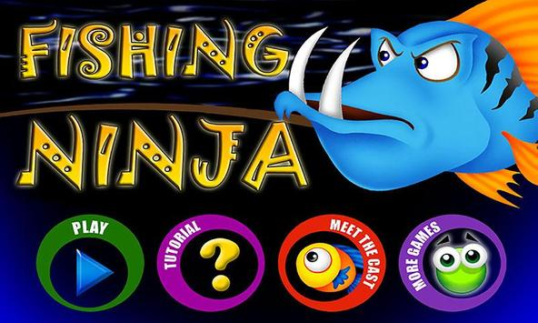 Ninja Fisher Man FREE poster