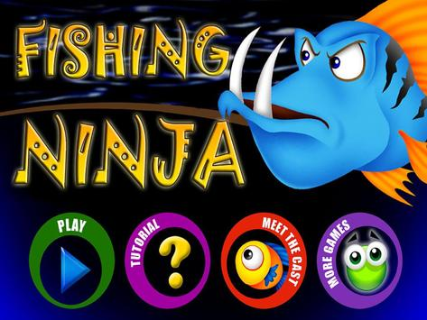 Ninja Fisher Man FREE apk screenshot