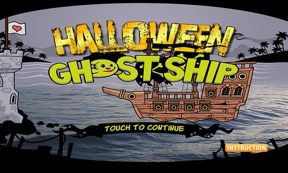 The Halloween Ghost Ship FREE poster