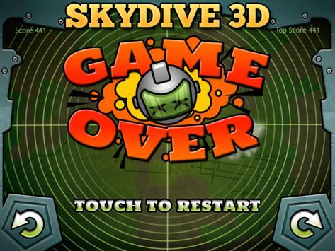 Skydive 3D FREE apk screenshot