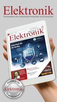 Fachmagazin Elektronik poster
