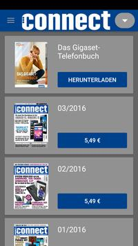connect Magazin poster