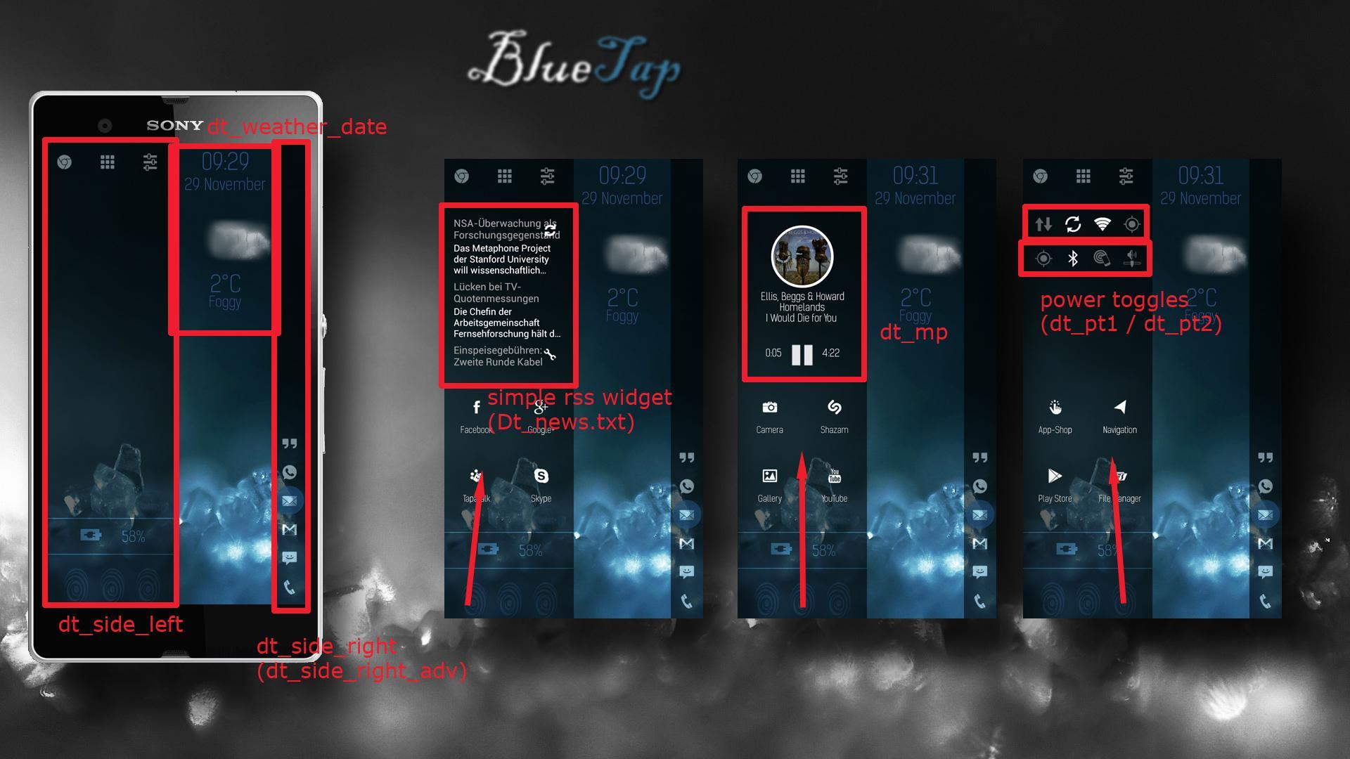 BlueTap LLXTheme\Template for Android - APK Download