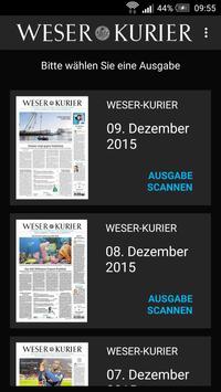 WESER-KURIER Live poster