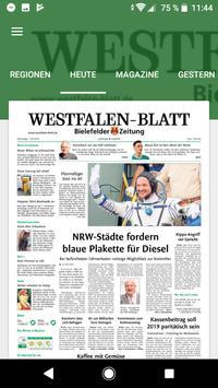 Westfalen-Blatt poster