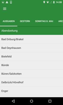 Westfalen-Blatt apk screenshot