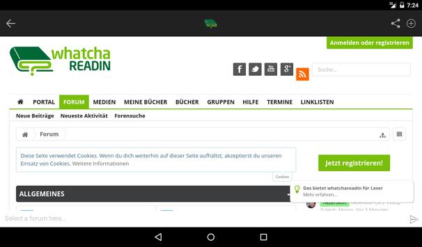 Whatchareadin screenshot 2