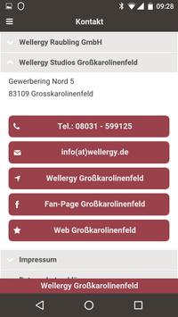 Wellergy Großkarolinenfeld apk screenshot