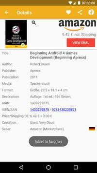 Buchhai - Metasearch engine apk screenshot