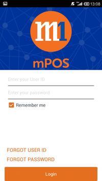 M1 mPOS poster