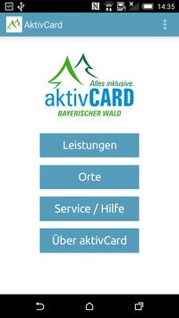 aktivCARD Bayerischer Wald poster
