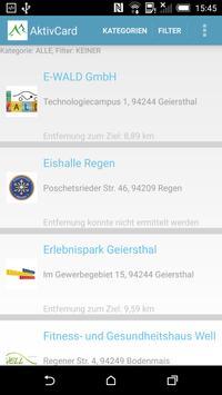 aktivCARD Bayerischer Wald apk screenshot