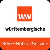Reise-Notruf-Service icon