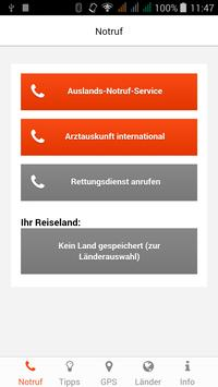 Reise-Notruf-Service poster