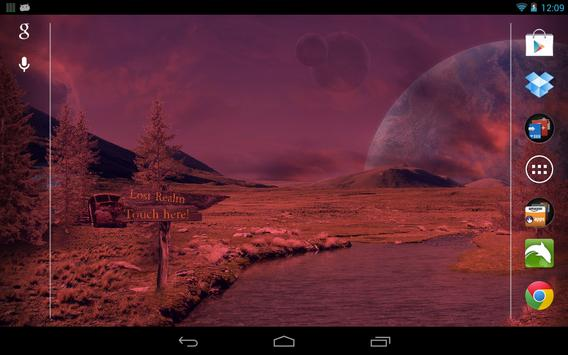 Space World Live Wallpaper apk screenshot