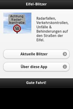 Eifel-Blitzer poster