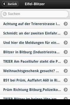 Eifel-Blitzer screenshot 1