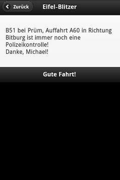Eifel-Blitzer screenshot 2