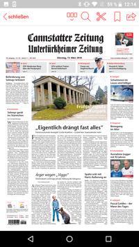 Cannstatter Zeitung ePaper apk screenshot