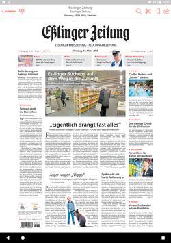 Eßlinger Zeitung ePaper apk screenshot