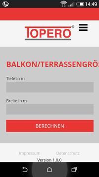 Topero Balkonboden poster