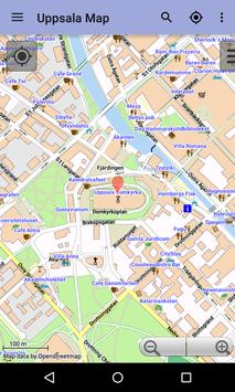 Uppsala Offline City Map apk screenshot