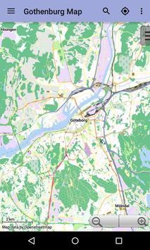 Gothenburg Offline City Map poster