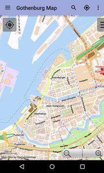 Gothenburg Offline City Map screenshot 1
