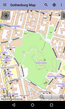Gothenburg Offline City Map screenshot 7