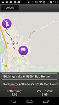 Taxi 2222 Bad Honnef apk screenshot