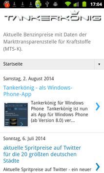 Tankerkönig Spritpreis screenshot 4