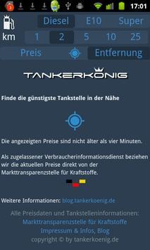 Tankerkönig Spritpreis screenshot 2