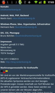 Tankerkönig Spritpreis screenshot 3