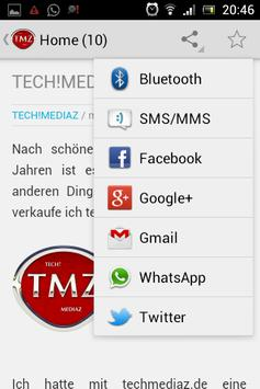 TECH!MEDIAZ apk screenshot