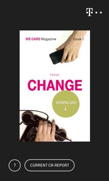 We Care Magazin poster