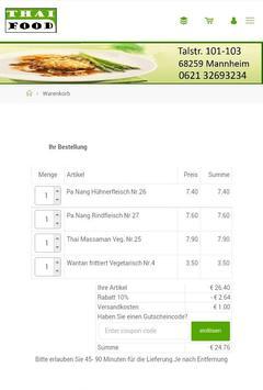 Thai Food screenshot 7