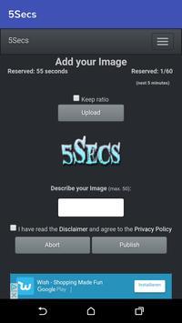 5Secs apk screenshot