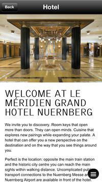Le Meridien Grand Hotel apk screenshot