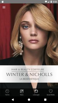 Salon Winter & Nicholls poster