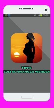 Tipps zum schwanger werden poster