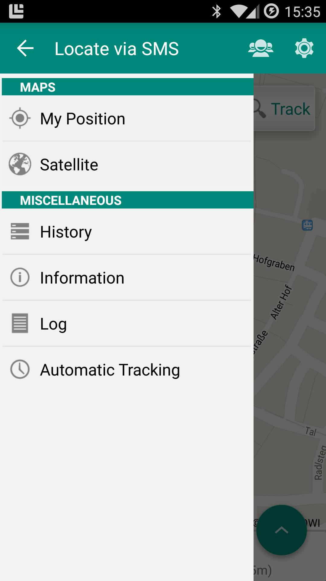 Locate via SMS for Android - APK Download
