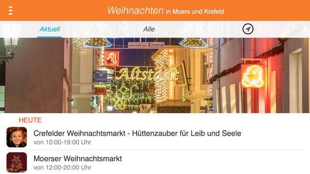Weihnachten in Moers + Krefeld poster