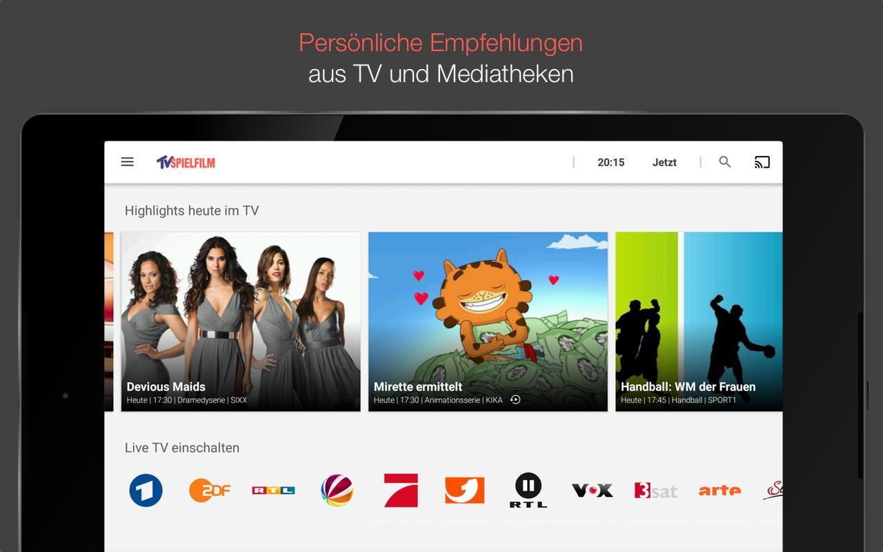 tv spielfilm tv programm mit live tv apk tv spielfilm tv programm mit live tv apk. Black Bedroom Furniture Sets. Home Design Ideas