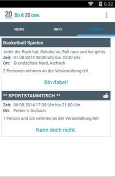 20one.de apk screenshot