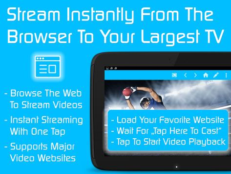 Video & TV Cast | Fire TV - Web Video Cast Browser apk screenshot