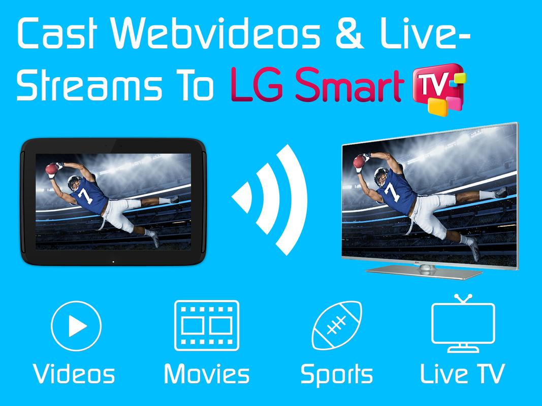 Video Amp Tv Cast Lg Smart Tv Hd Video Streaming Apk